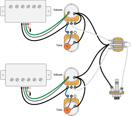 guitar wiring diagrams les paul ochoey productions  ochoey productions