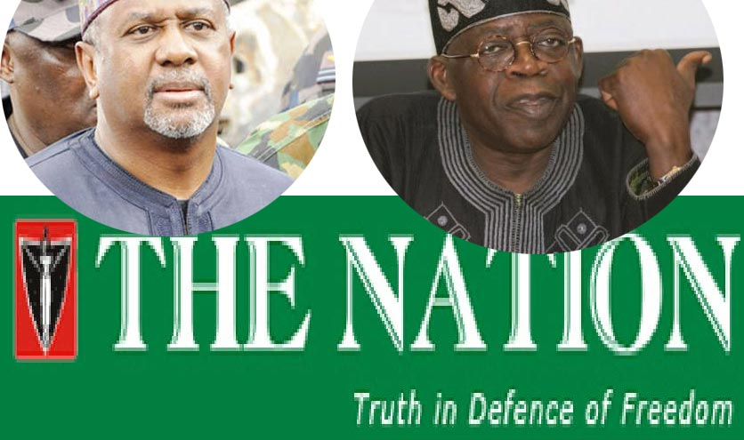 Arms Deal Scandal: Tinubu's The Nation Newspaper Returns 9M Received From Dasuki