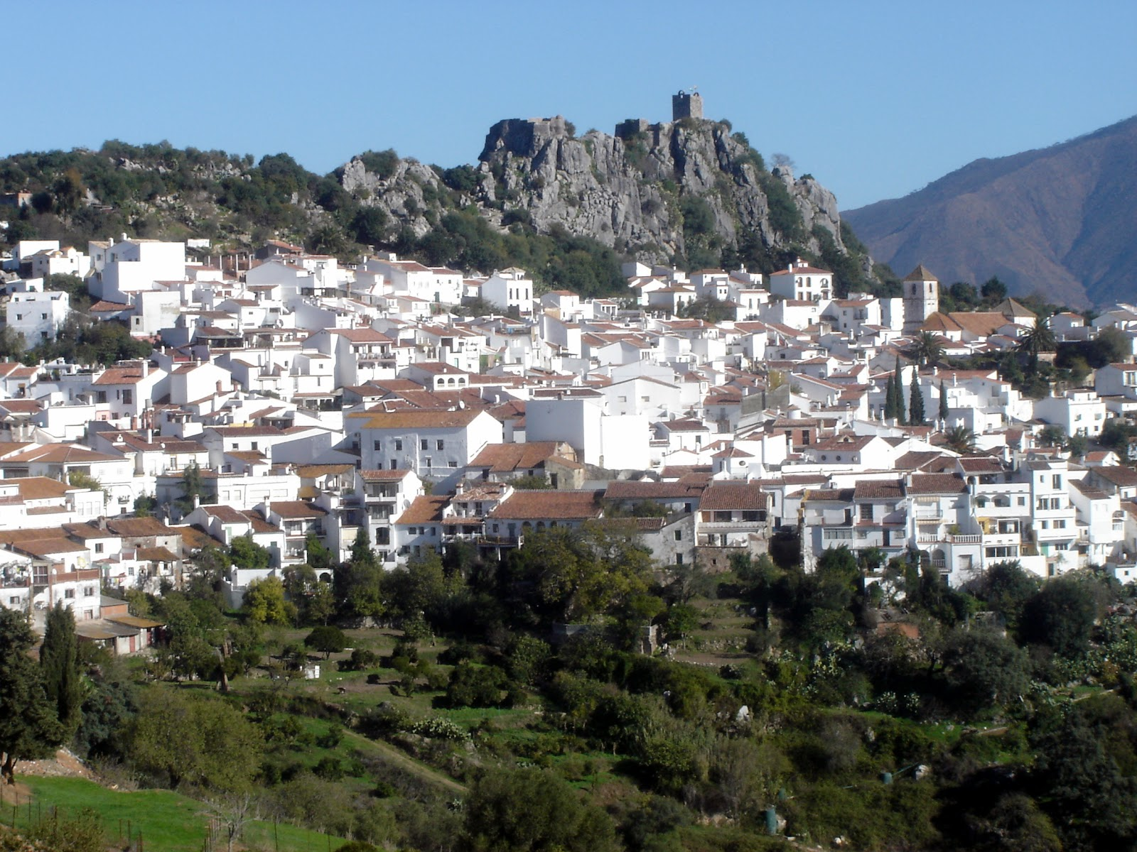 Postcards from Spain: Gaucín (one of the White Towns of Andalucía)