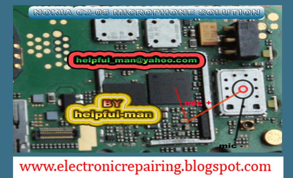 NOKIA C2-05 MICROPHONE PROBLEM