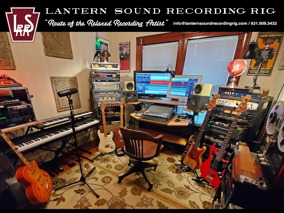 "The Lantern Sound Recording Rig | ""Route of The Relaxed Recording Artist"""