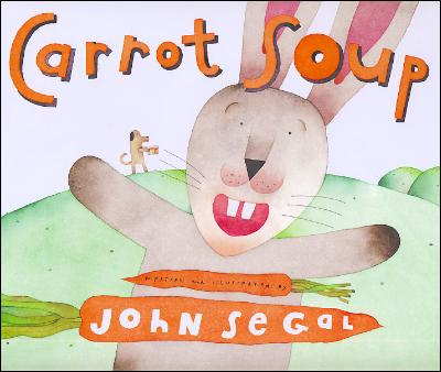 Carrot Spup by John Segal is a fun book for toddlers and preschool kids, but Kindergarten, first, and second grade could find value in this book for inference or friendship lessons. Recipe in the back of the book. Alohamora Open a Book http://alohamoraopenabook.blogspot.com/