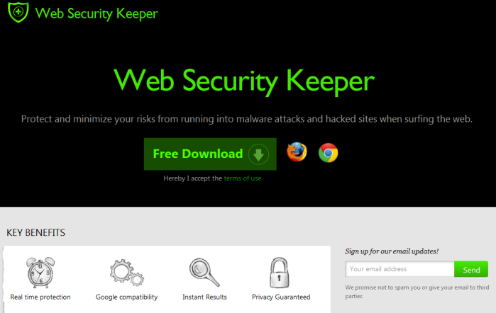 Web Security Keeper