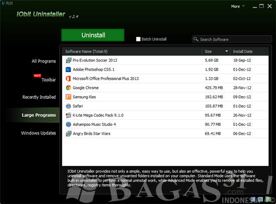 IObit Uninstaller 2.4 Portable 3