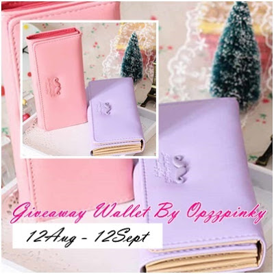 Giveaway Wallet by Opzzpinky
