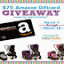$75 Amazon Giveaway