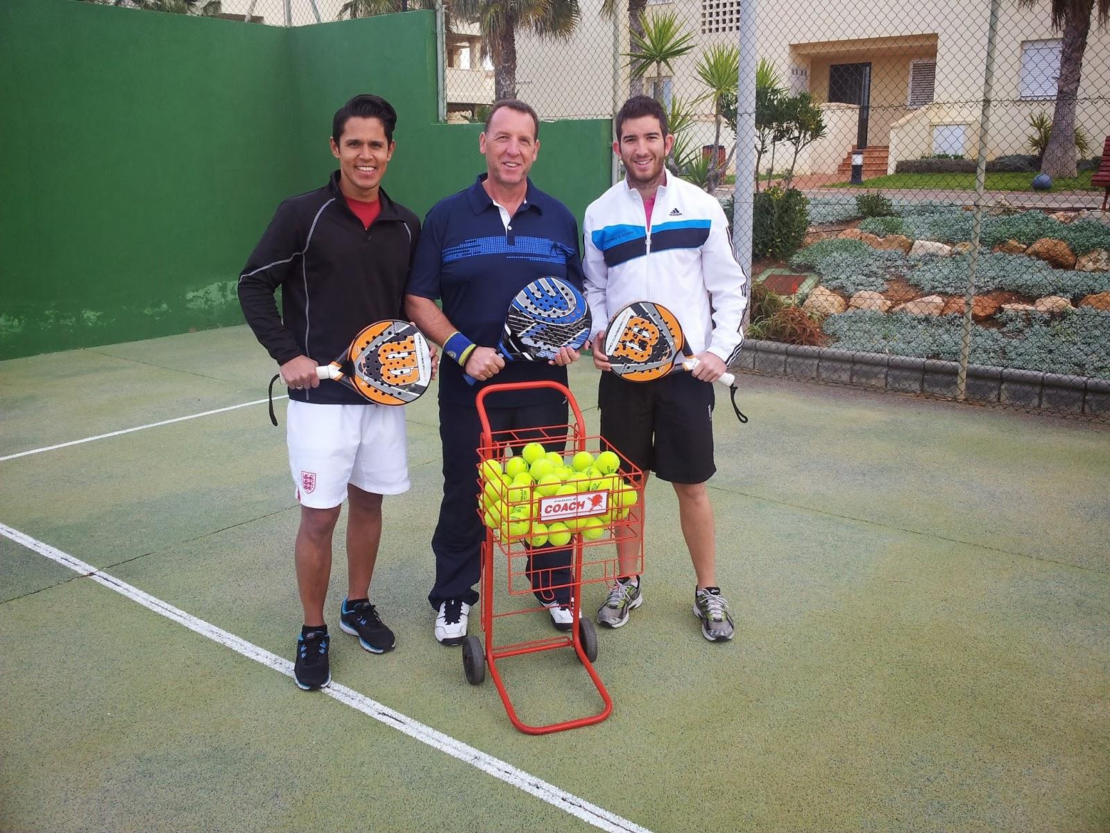 Mis alumnos de Guadalajara: Julio, Tomás y David.