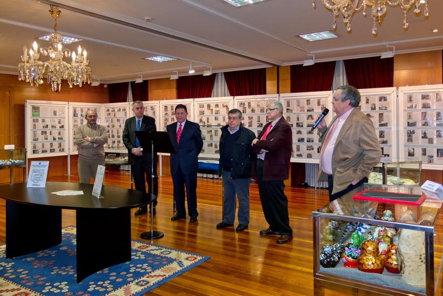 Inauguración de la XII Exposición de coleccionismo del Centro Asturiano de Oviedo