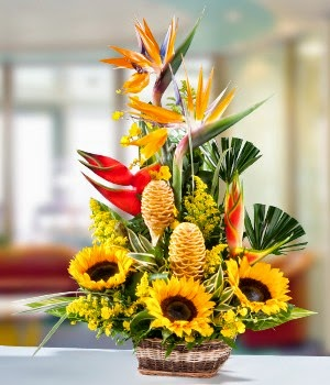 Top Sunflower Bouquet delivery in Brazil