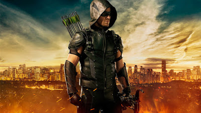Arrow's new look/costume for their upcoming fourth season