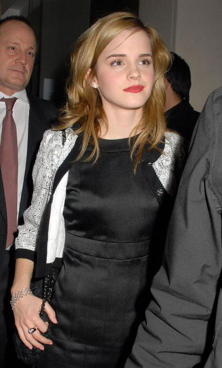 Red Carpet Dresses: Emma Watson - Chanel Private Party 2007 Anna Paquin 2015