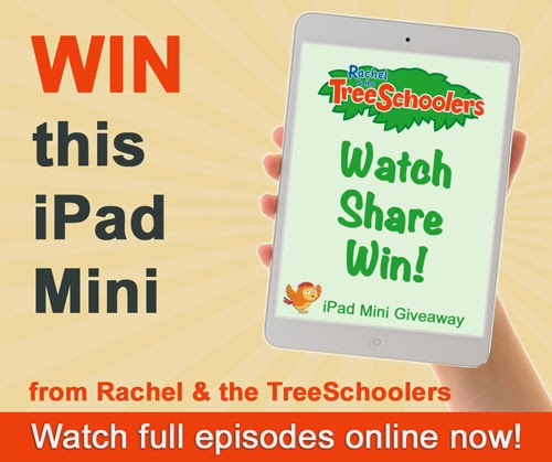 Who wants an iPad mini?! (Of course you do!) | Rachel & the TreeSchoolers Giveaway