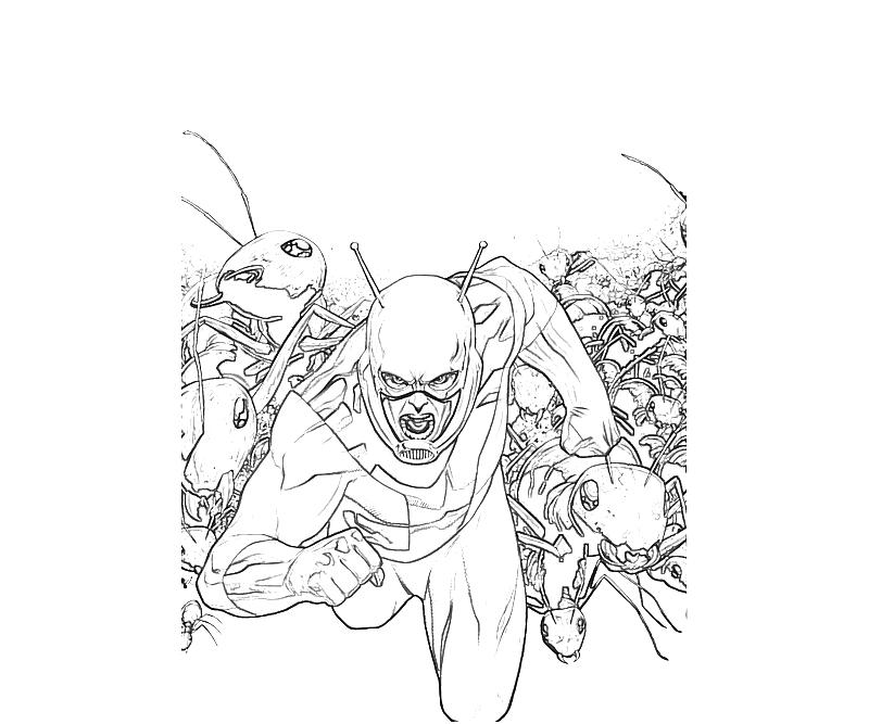 Ant Man Coloring Pages Coloring Pages