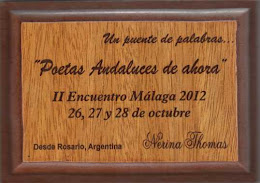 II Encuentro de Poetas Andaluces de Ahora en Mlaga