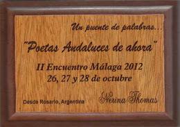 II Encuentro de Poetas Andaluces de Ahora en Málaga