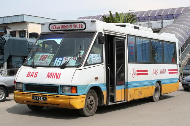bas mini pulau pinang, sejarah bas di pulau pinang, nostalgia bas pulau pinang, history of bus in penang,