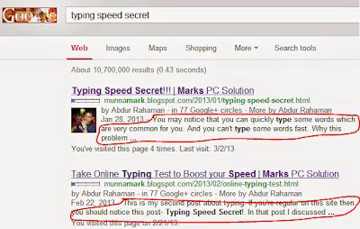 Search Result Description
