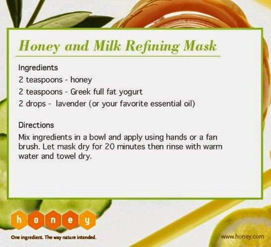 honey, milk, greek yogurt, lavender, facial mask, beauty treatment, home made remedies,