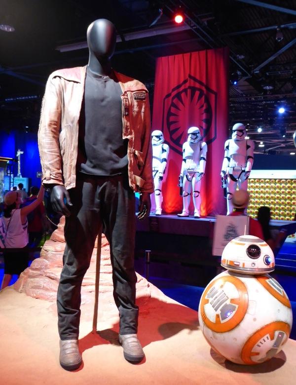 Star Wars Force Awakens Finn movie costume
