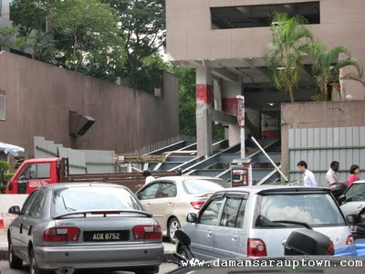 Damansara Uptown Multistorey Carpark renovation 2