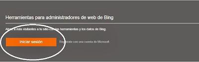 herramientas para administradores de web bing