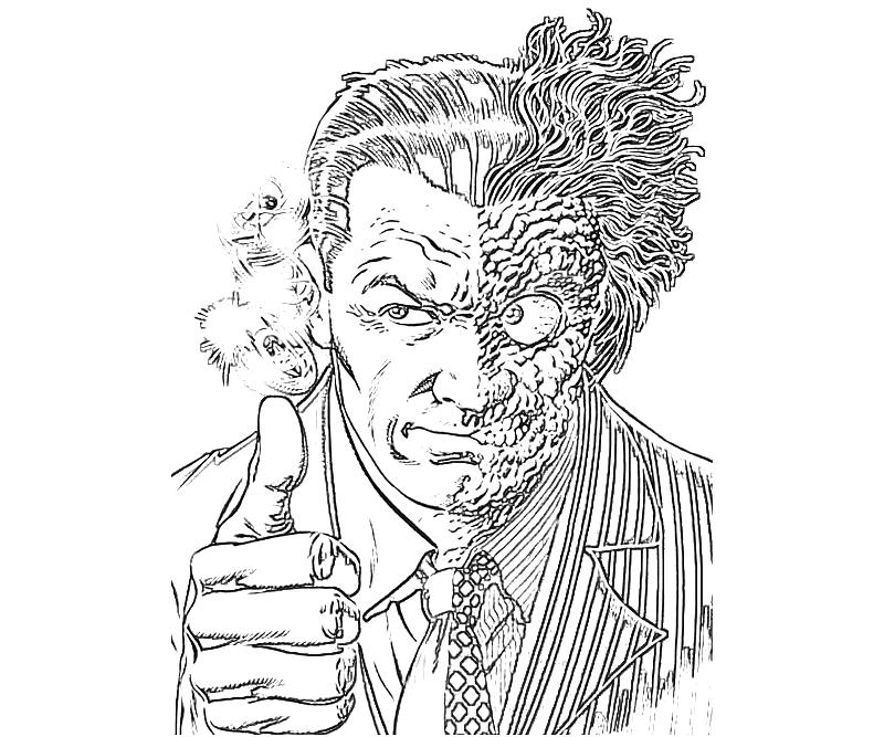 printable-batman-arkham -city-two-face_coloring-pages