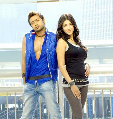 Surya's 7 am Arivu latest stills