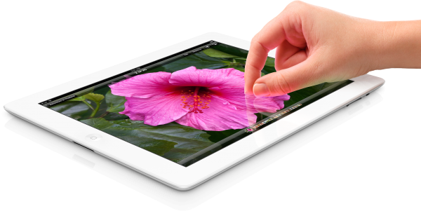 Novo iPad - Tela Retina