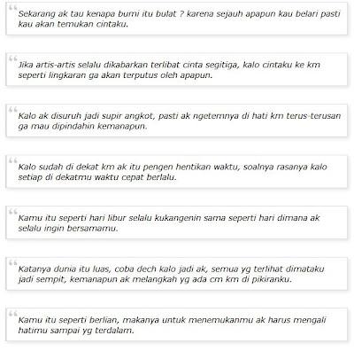 Kata Kata Gombal Juni 2013 Terbaru