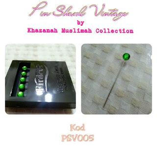 Pin Shawl Turki PSV005 Hijau Daun
