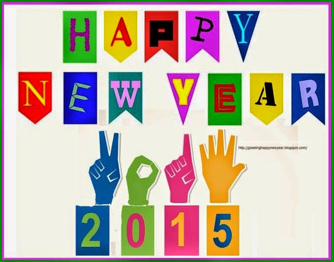 Happy New Year 2015 - Best Wishing Cards