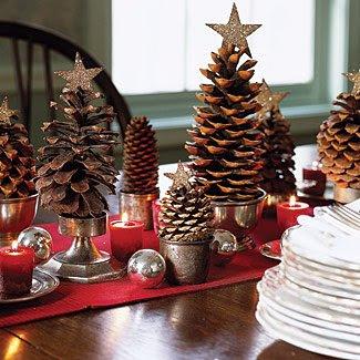 Decoração de Natal Económica