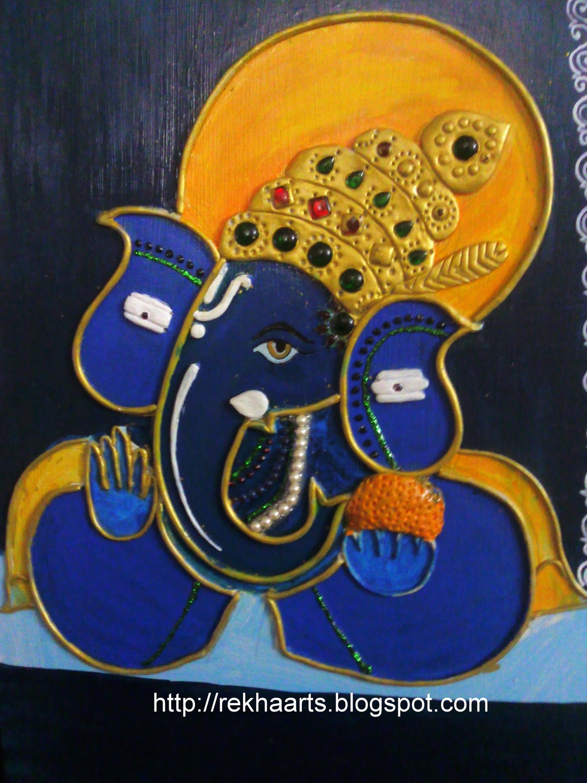 ganesha paintings modern art - photo #18