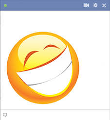 Big Grin Facebook Sticker