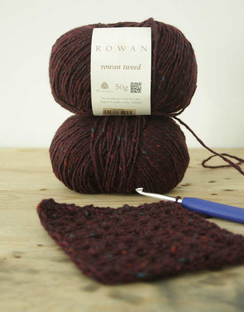 Rowan Tweed yarn | Happy in Red