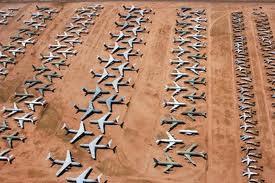 Cementerio de aviones - Microrrelato - Sergio Cossa