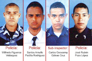 wanted police in Honduras