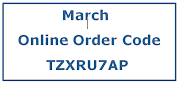 March On-line Ordering Code