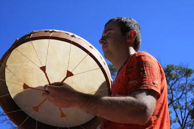 Tambor Lakota 40 x 8 cm