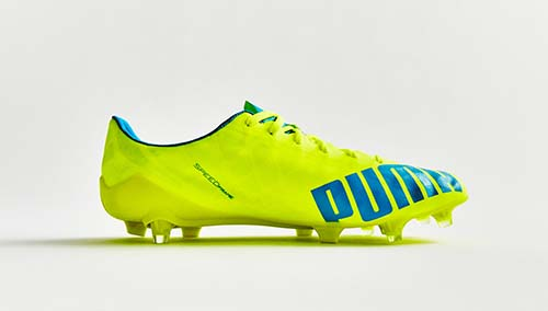 Puma evoSPEED SL-S with Safety Yellow and Atomic Blue