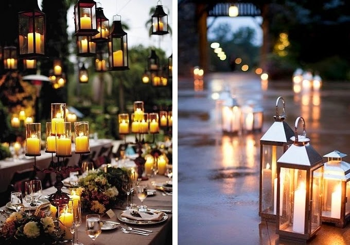 Lanterns - Creative Lighting Ideas for Your Wedding Reception