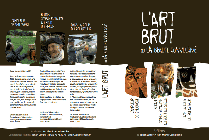 LES FILMS D'ART BRUT