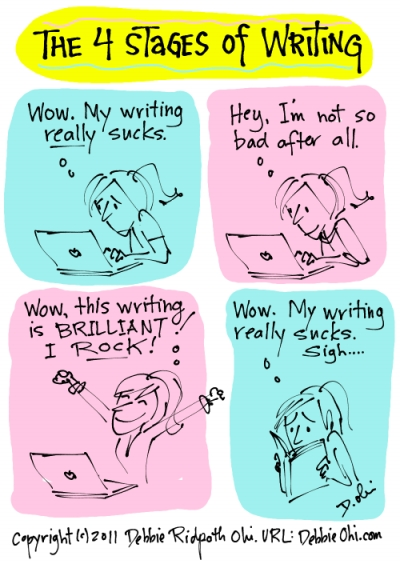 7 stages of writing an essay