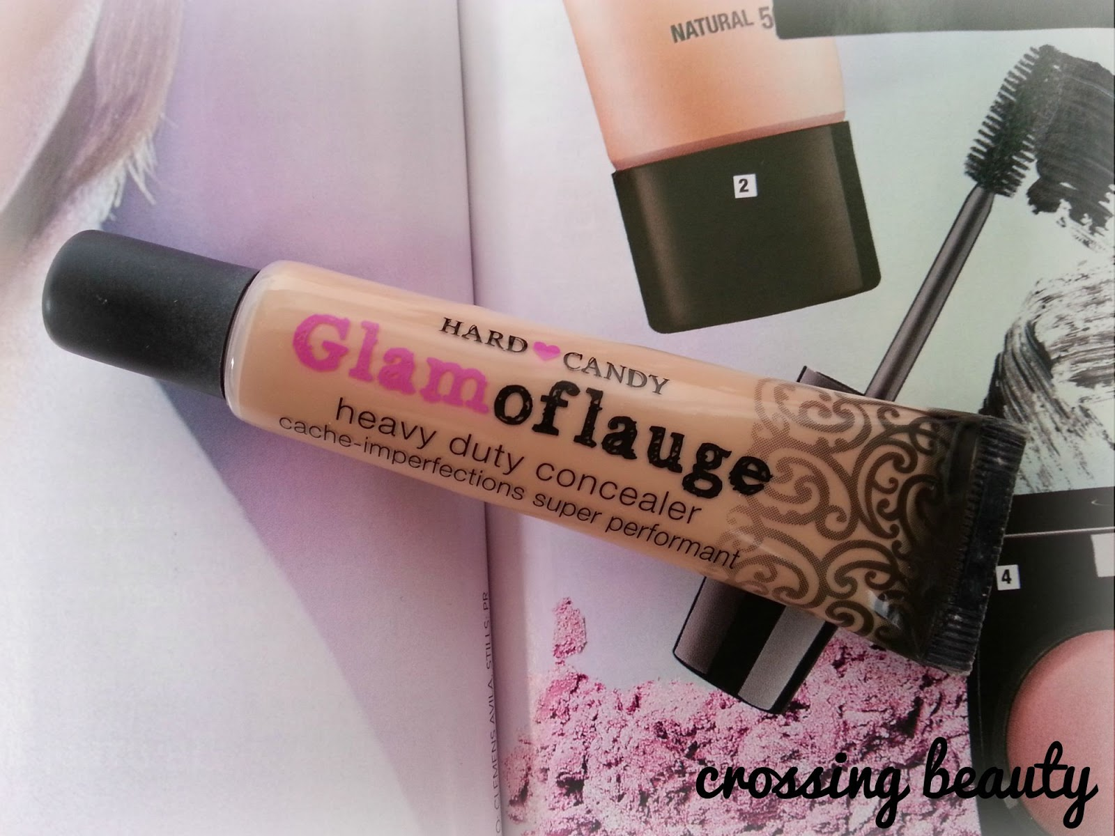 CROSSING BEAUTY: Hard Candy Glamoflauge Heavy Duty Concealer review