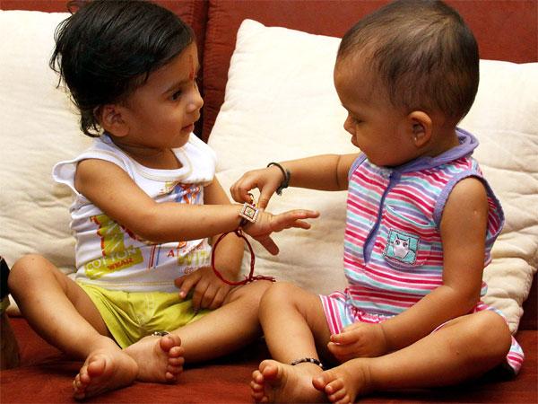 Most Memorable Raksha Bandhan of Children