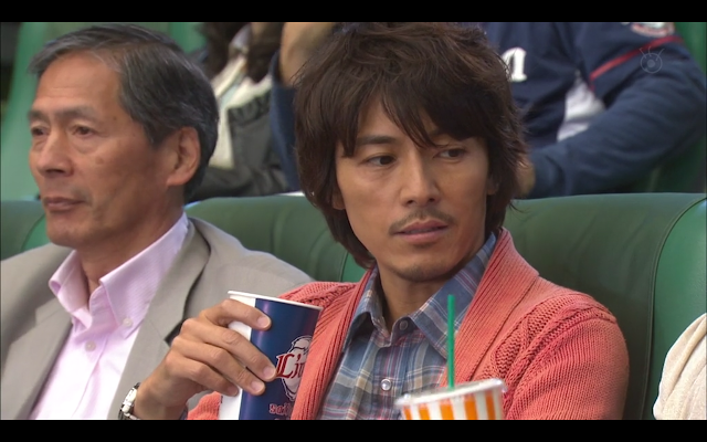 Last Cinderella - Tachibana displeased to find himself sitting next to Chiyoko Chan at the baseball game