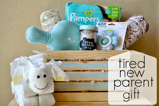 New Parent Gift, DIY Diaper Sheep, Diaper Cake Alternative, Gift basket for new parents, #DivasSleep, Pampers