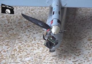 drone estado islâmico isis