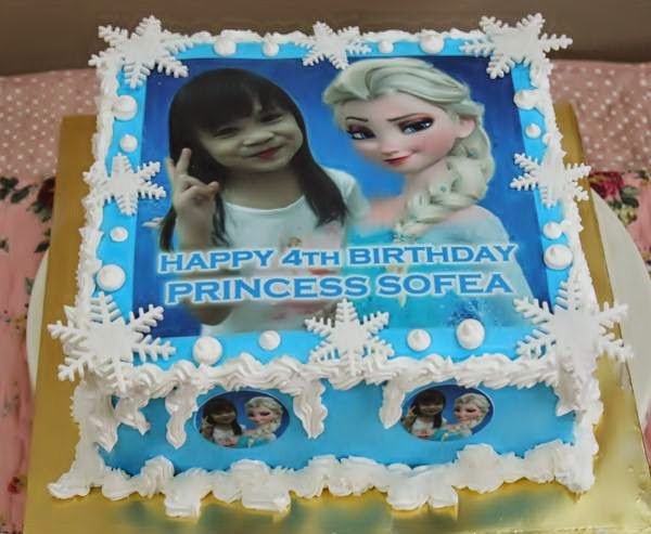 Frozen Cake Simple Design : Jasmeen Home Delight: Frozen theme cake design