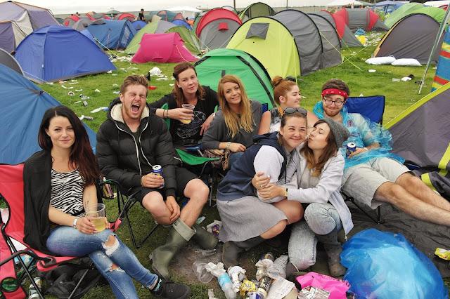 Leeds fest camp